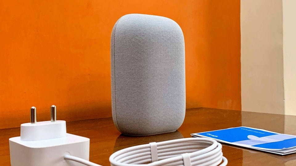 Google Nest Audio smart speaker.