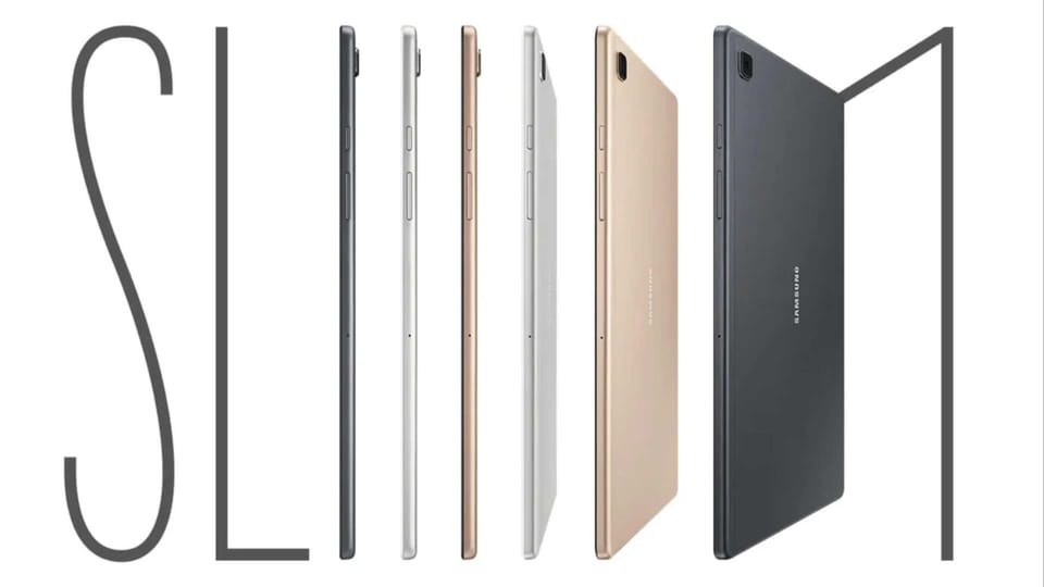 The new Samsung Galaxy Tab A7 is one of Samsung's slimmest tablets so far.