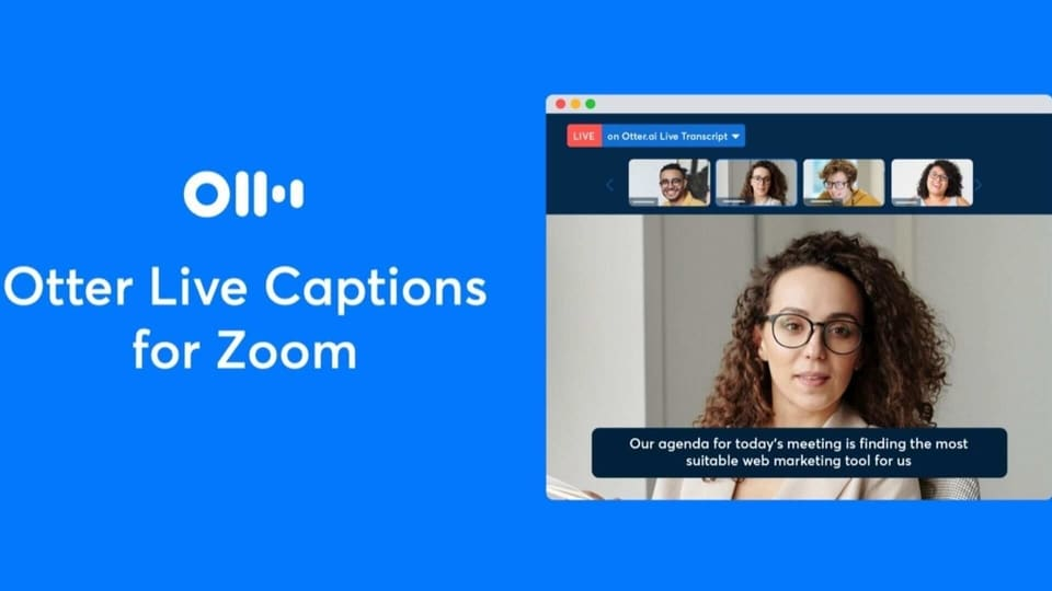 Zoom live captions.