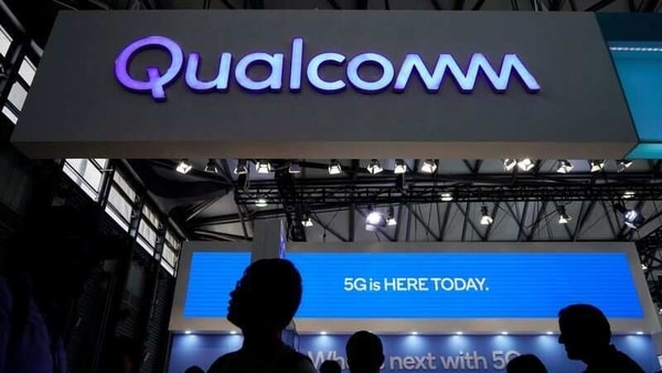 A Qualcomm sign is pictured at Mobile World Congress (MWC) in Shanghai, China June 28, 2019. REUTERS/Aly Song