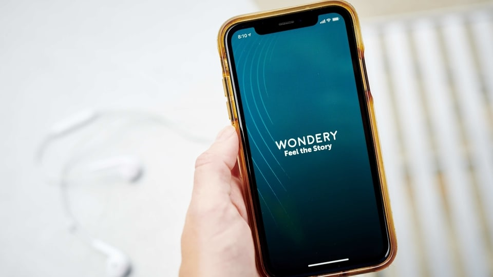 Wondery Inc. is expected to garner at least $200 million if it pursues a sale and could fetch as much as double that, which would represent the biggest podcasting transaction to date, according to people familiar with the matter. Photographer: Gabby Jones/Bloomberg
