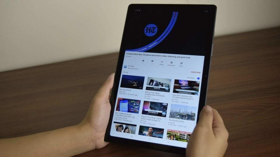 Samsung Galaxy Tab A7 review.