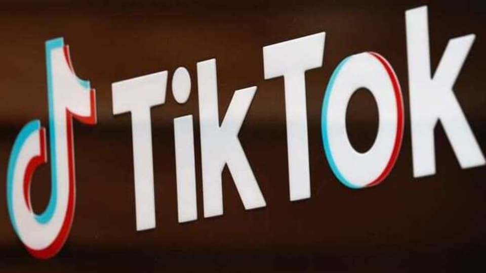 FILE PHOTO: The TikTok logo is pictured outside the company's U.S. head office in Culver City, California, U.S., September 15, 2020. REUTERS/Mike Blake