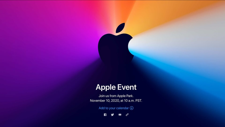 The earlier events this year saw the new iPad air, Apple Watch and the iPhone 12 line-up being launched. Clearly, now it's time for the Mac, Big Sur and the long-awaited shift to Apple Silicon.
