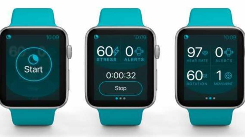 The NightWare app uses smartwatch motion sensors and heart rate data to detect if you are having a nightmare and makes the Apple Watch vibrate in response.