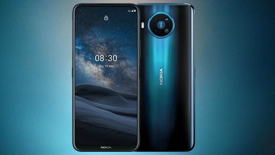 Nokia 8 V 5G UW assembly and disassembly videos