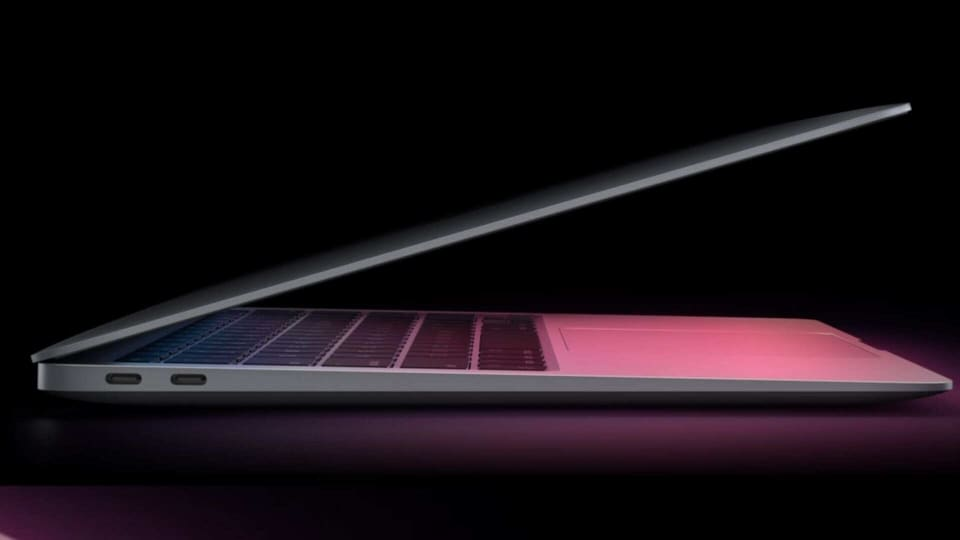 Apple MacBook Pro with the new M1 chip.