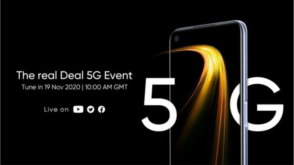 Realme 7 5G launch event.