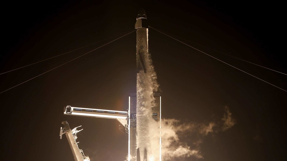 Baby Yoda used as 'gravity indicator' during SpaceX launch