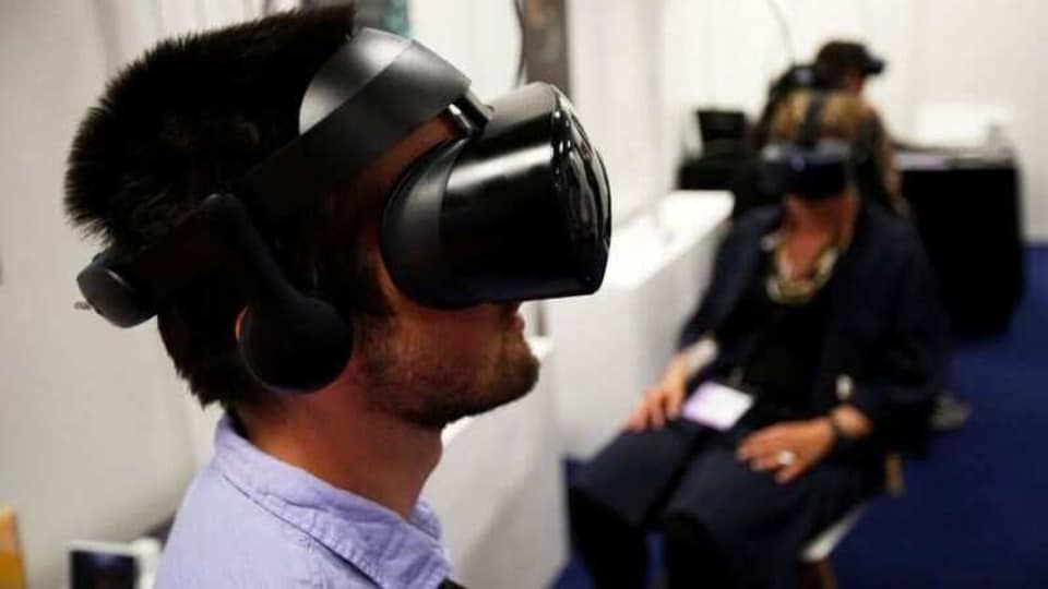 VR can be useful not just for scheduled meetings but also for helping ease feelings of isolation and giving some workers the office buzz they crave and thrive in.