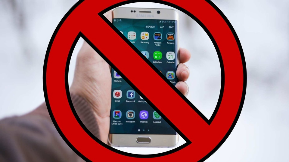 More apps banned