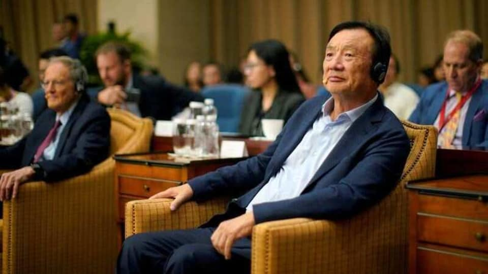 FILE PHOTO: Huawei founder Ren Zhengfei attends a panel discussion at the company headquarters in Shenzhen, Guangdong province, China June 17, 2019. REUTERS/Aly Song/File Photo