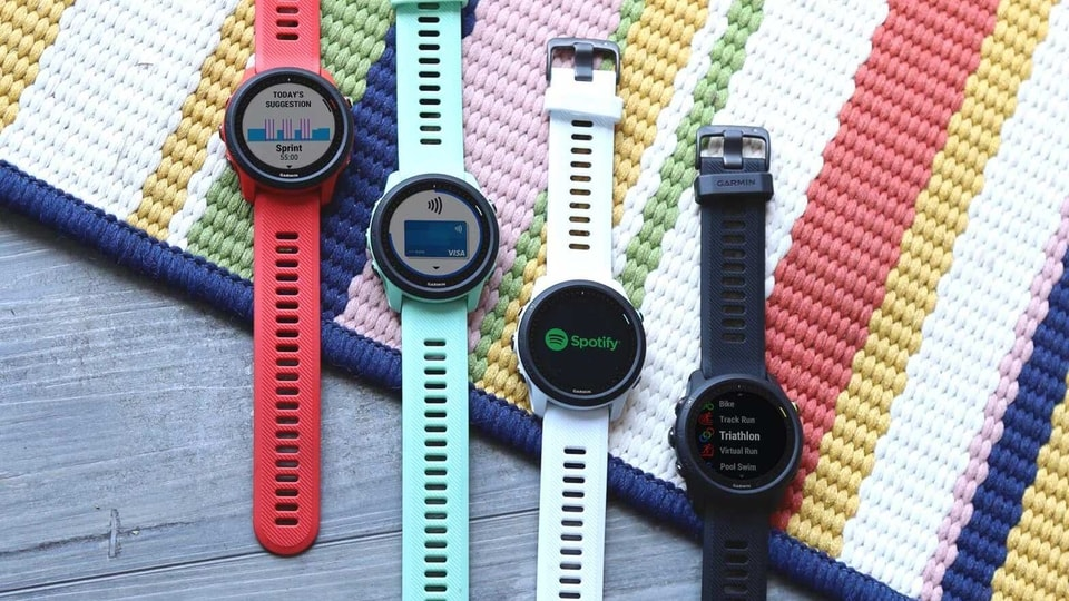 The Garmin Forerunner 475 is priced at Rs. 52,990 and is available in four colours - Whitestone, Magma Red, Neo Tropic and Black.