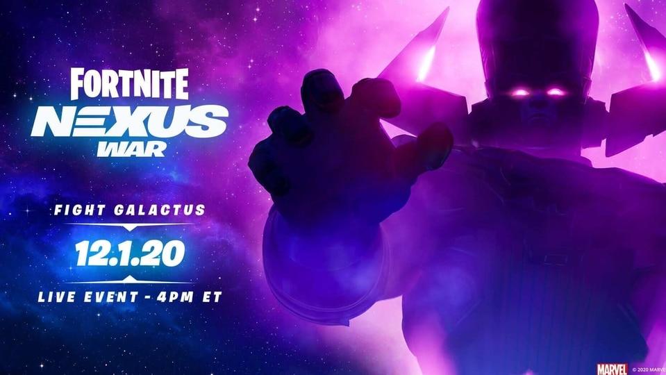 Fornite Galactus event
