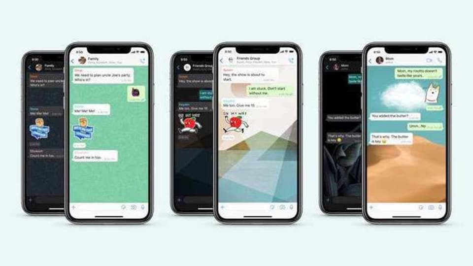 In new WhatsApp feature, users can now choose wallpapers for each chat