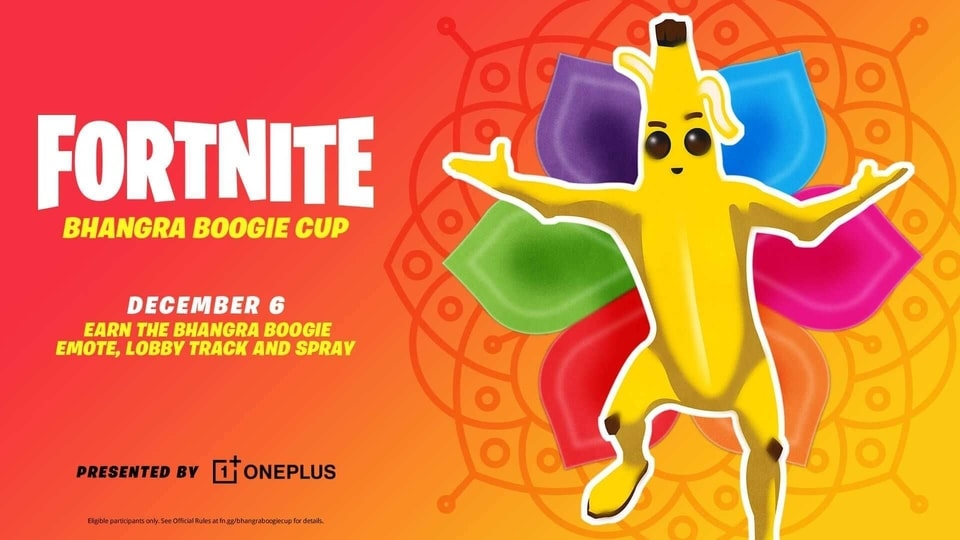 Fortnite Bhangra Boogie Cup