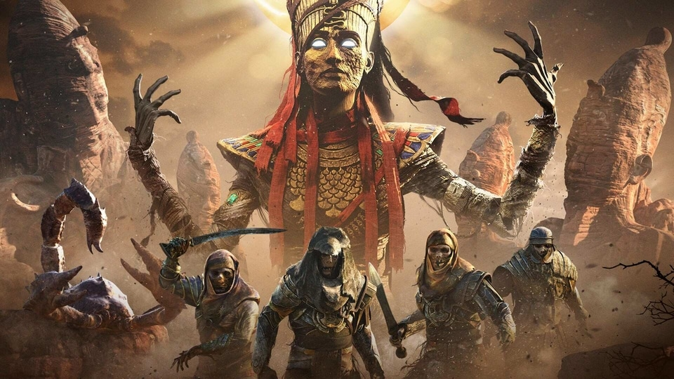 Assassins Creed Origins is one of the games Epic Games is giving away for free this holiday season.