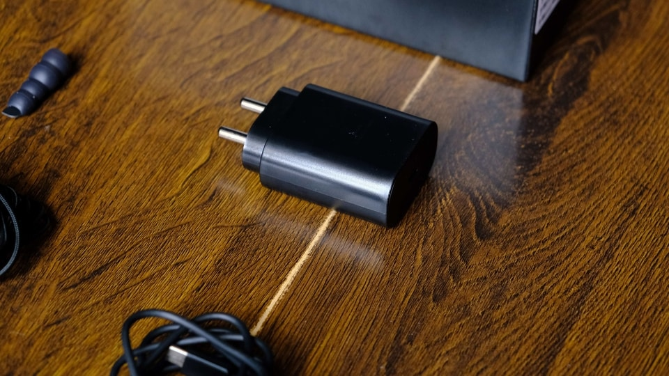 Samsung Galaxy S20 Ultra charger.