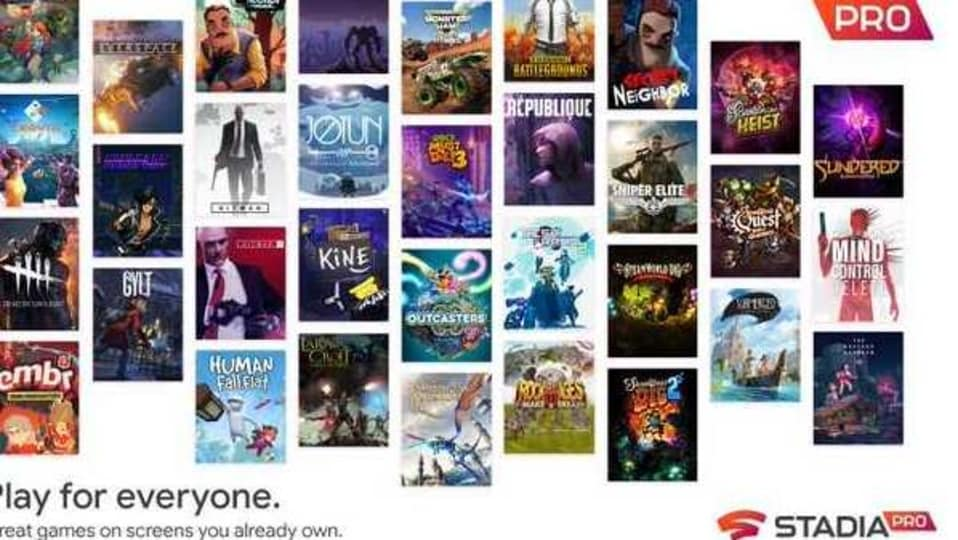 Google Stadia Pro to get four new games in January 2021