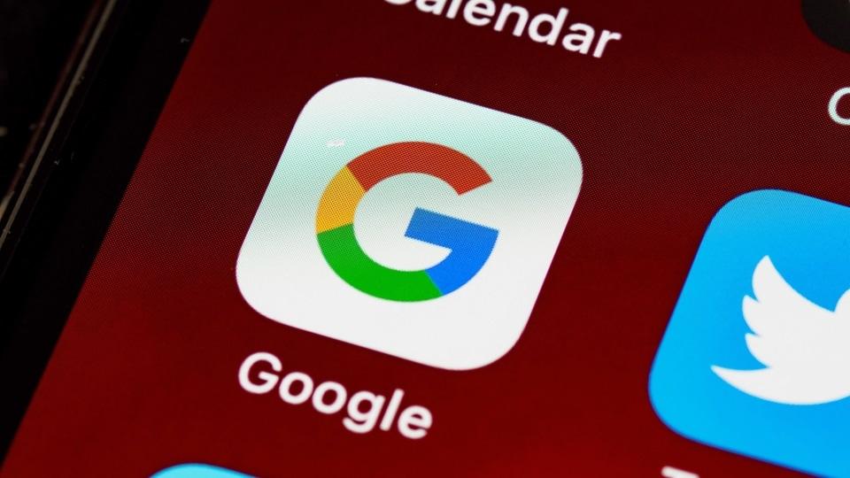 Google app.