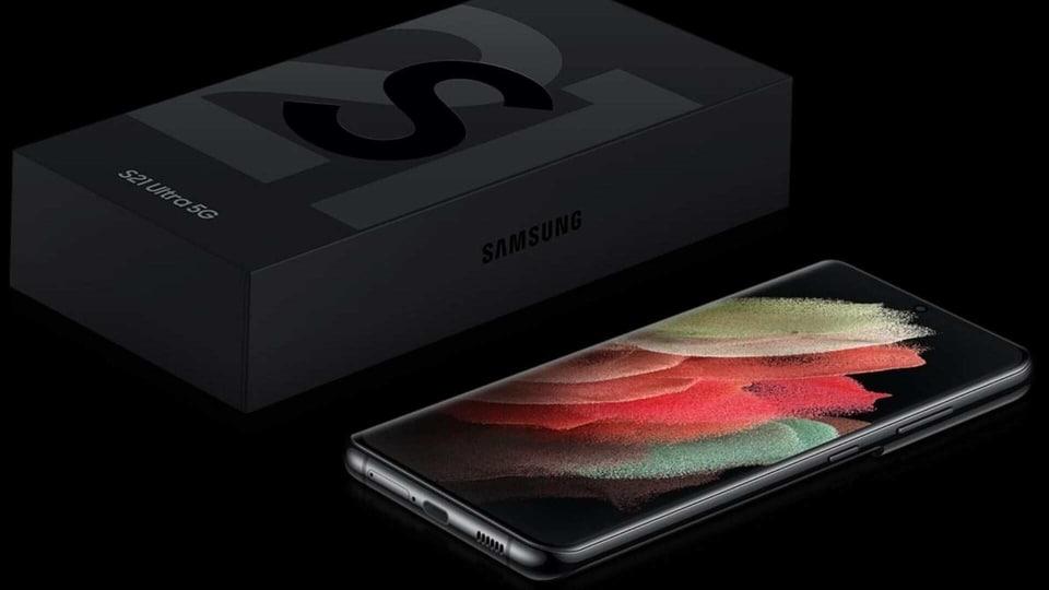 Samsung Galaxy S21 box