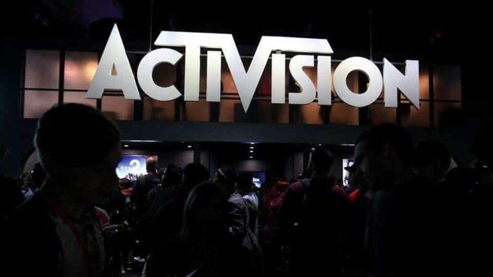 The Activision booth at the E3 2017 Electronic Entertainment Expo in Los Angeles, California, U.S. June 13, 2017.