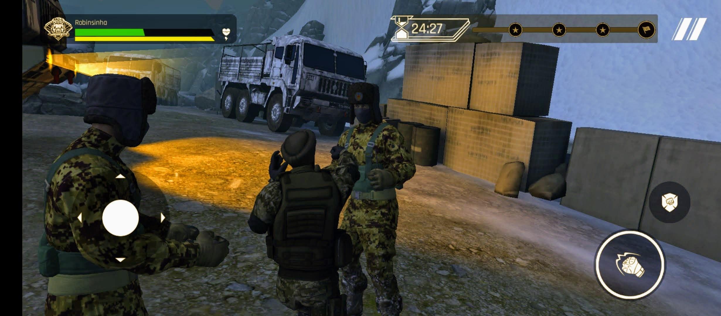 FAU-G gameplay.