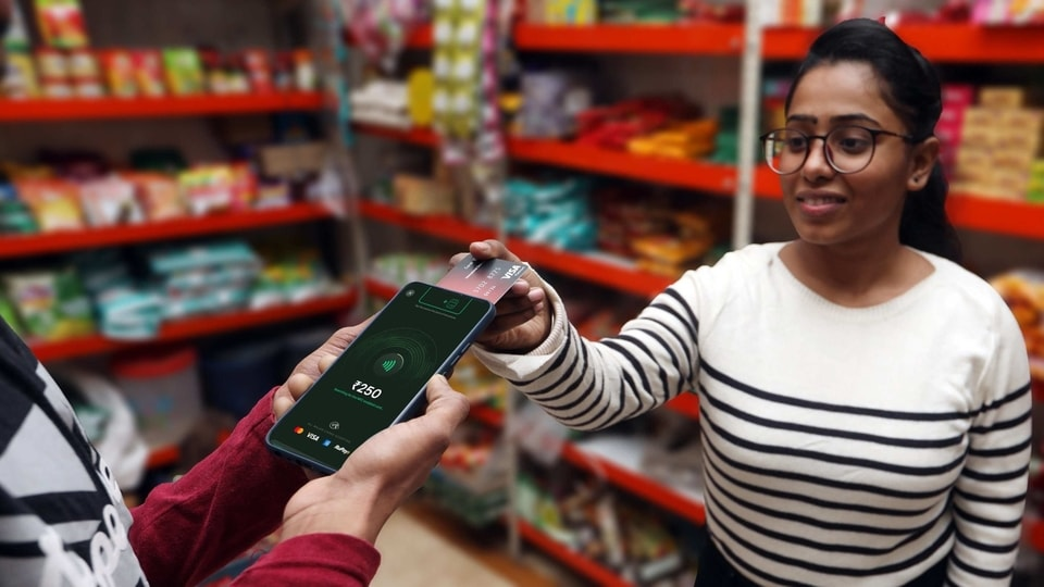 The new AllTap application involves using an app with a Near Field Communication (NFC) enabled smartphone instead of a Point of Sale (PoS) machine.