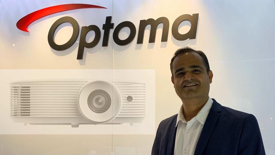 Vijay Sharma, Country Head India, Optoma Corp