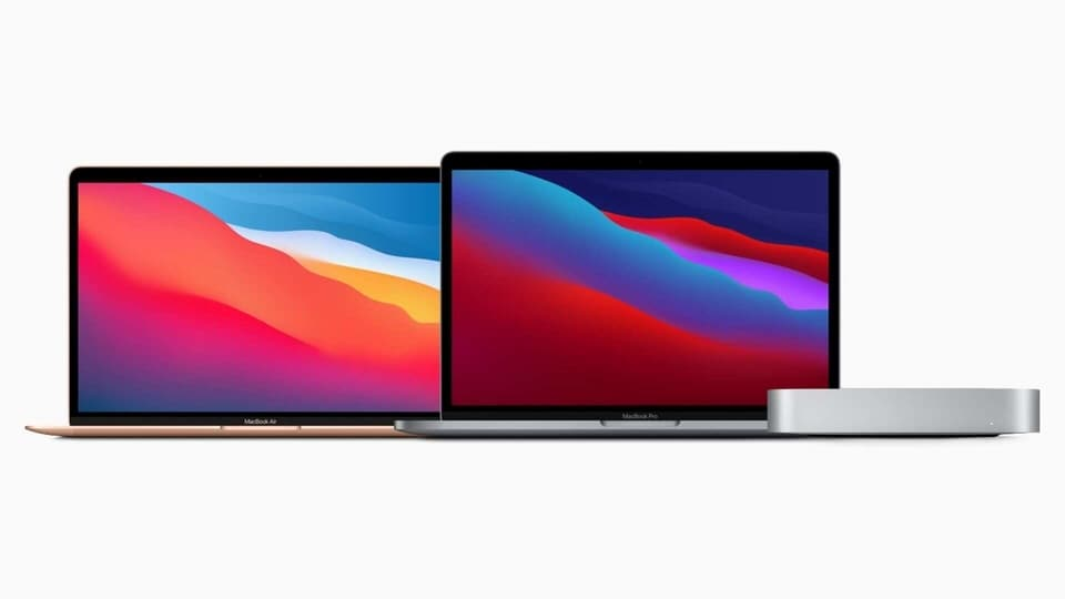 Apple's M1 chip-powered Macs.