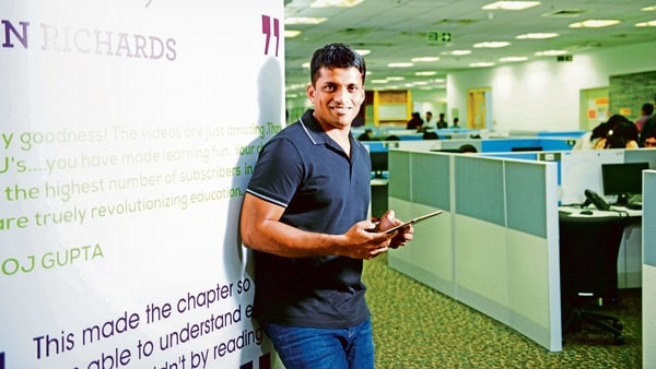 Byju Raveendran, founder and chief executive officer of edtech unicorn Byju's.