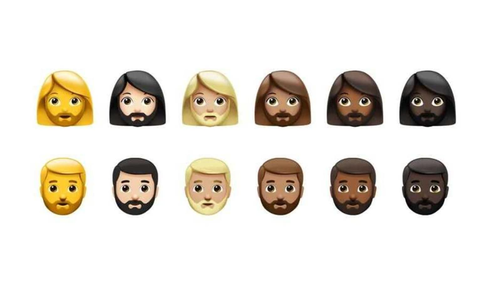 iPhones will be the first to get gender consistent 'woman with a beard'  emoji | HT Tech