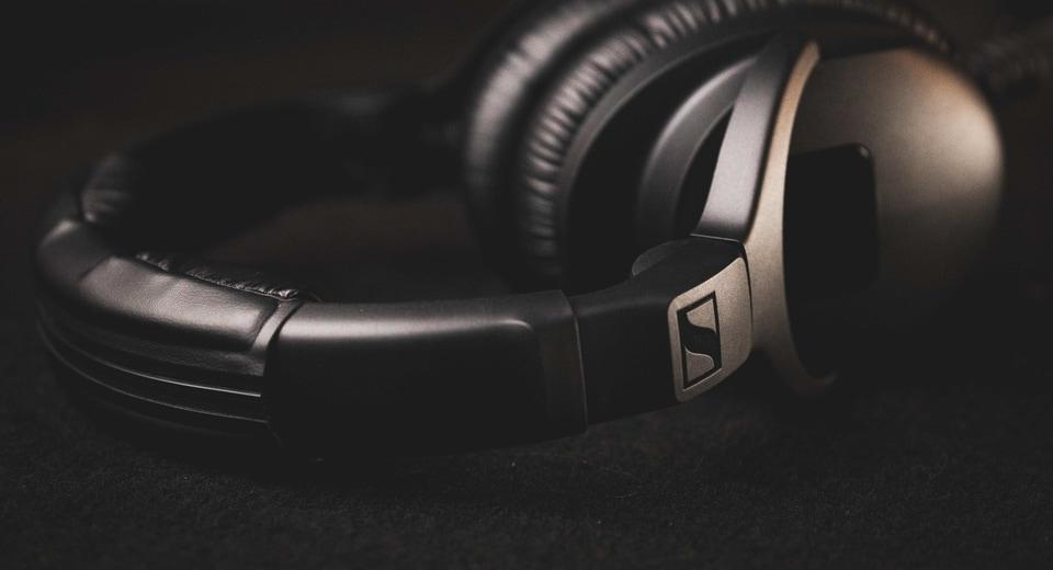 Sennheiser headphone.
