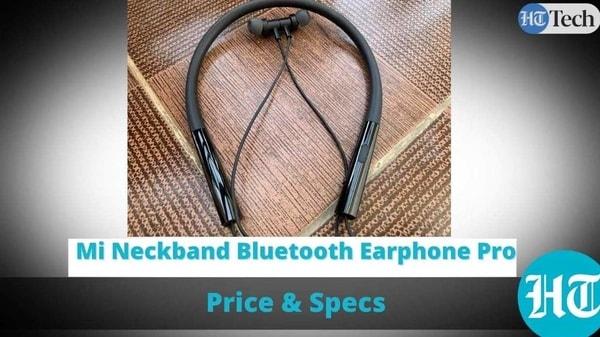 Mi Neckband Bluetooth Earphone Pro
