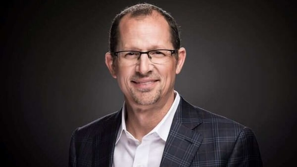 CEO of Coursera Jeff Maggioncalda poses in an undated photo obtained by Reuters. Courtesy Coursera/Handout via REUTERS