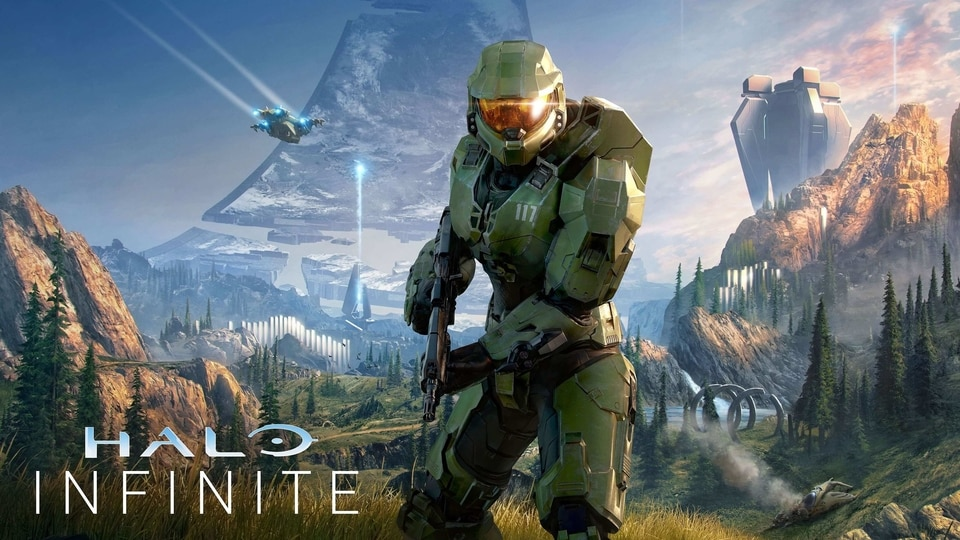 The audio team for Halo Infinite didn't just use the piano as a target for various blunt instruments, instead before smashing it, they placed a subwoofer on the piano to use it as a resonator.