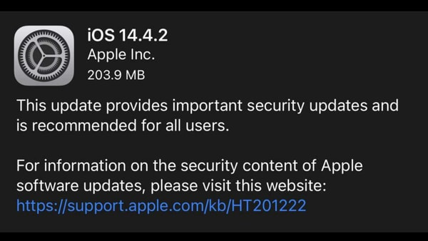 iOS update is here and iPhone users should download