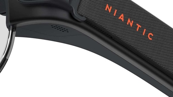 The teaser image of Niantic's AR glasses.