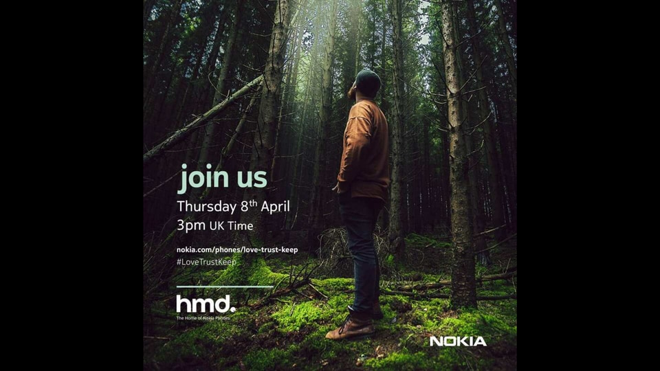 The April 8 event is scheduled to take place at 7:30PM (IST) and will be streamed on HMD Global's social media handles.