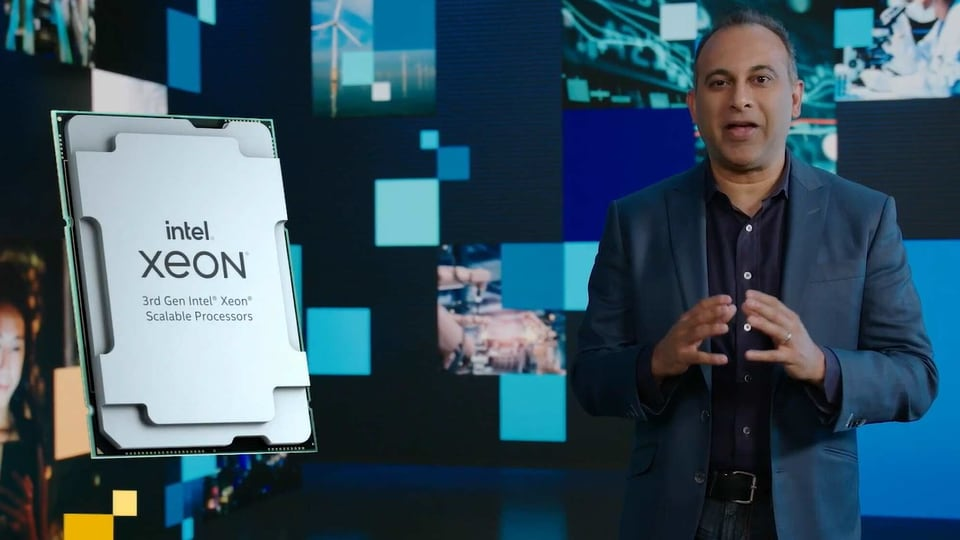 Intel launched its 3rd Gen Intel Xeon Scalable processor on Tuesday