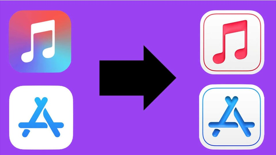 While one cannot say for certain that this IS exactly how the new iOS icons are going to look like or if this is the future of Apple's new design language, this is not the first evidence we have of the fact that there is a shift in process.