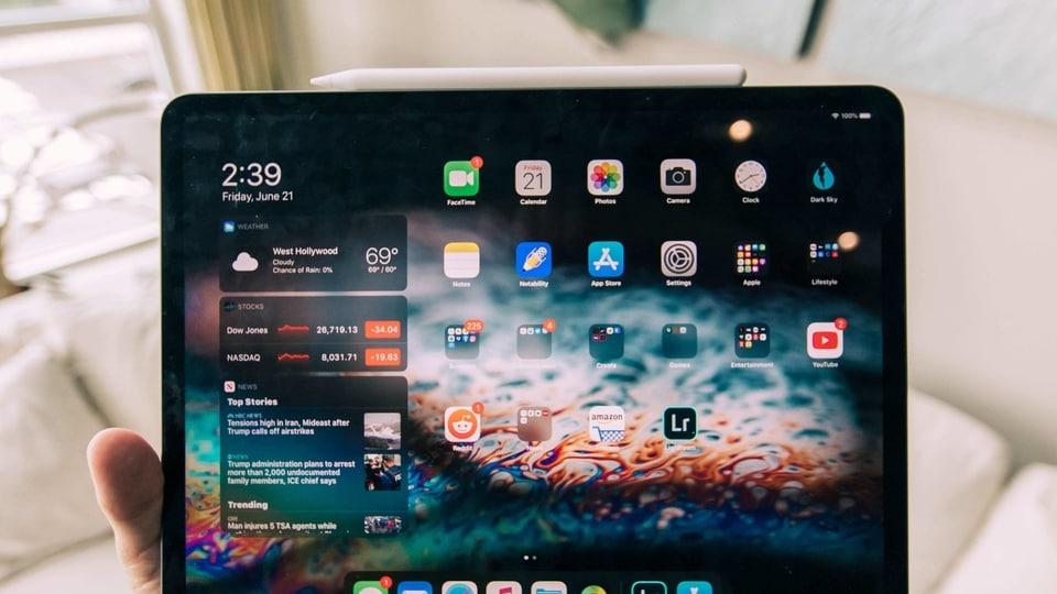 Apple iPad.