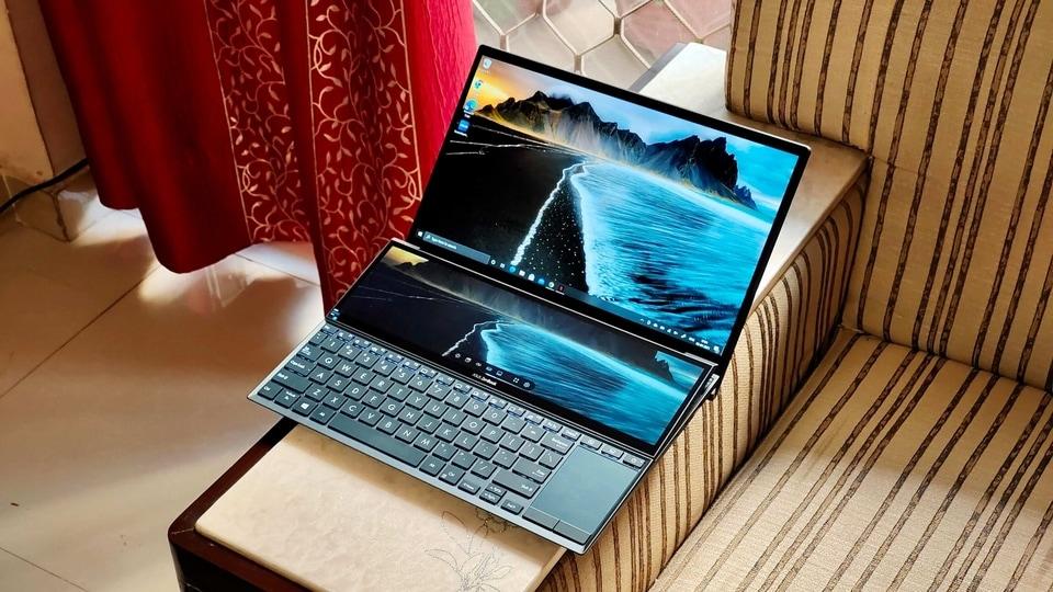 Asus ZenBook Duo 14 UX482.