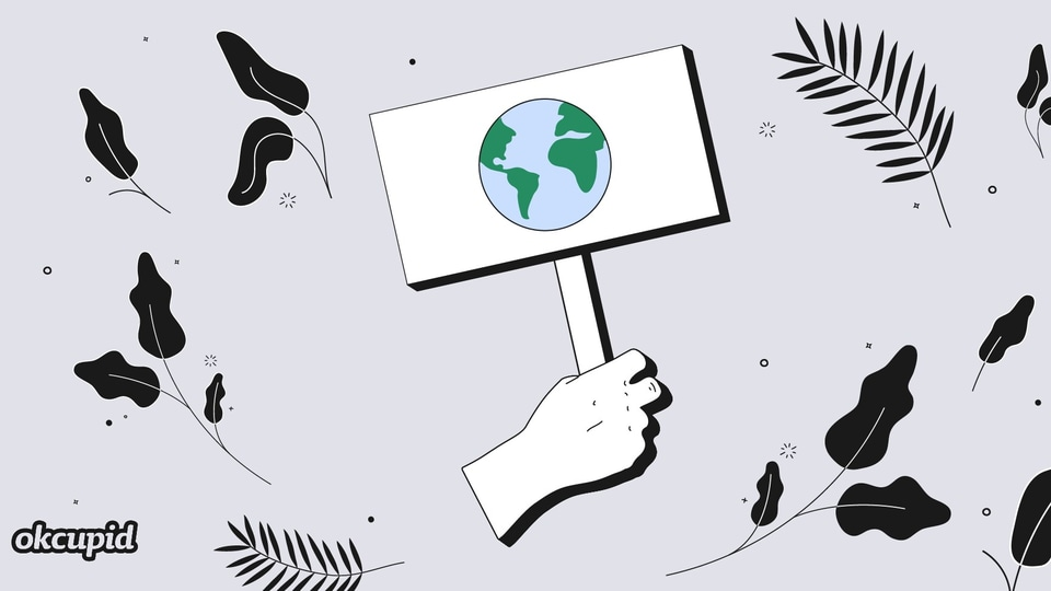 To help these millennials wear their advocacy on their sleeves, in a manner of speaking, OkCupid is rolling out a global Climate Change Advocate Profile Badge and Stack.