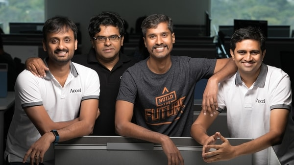 A group photo of Chargebee's founders.