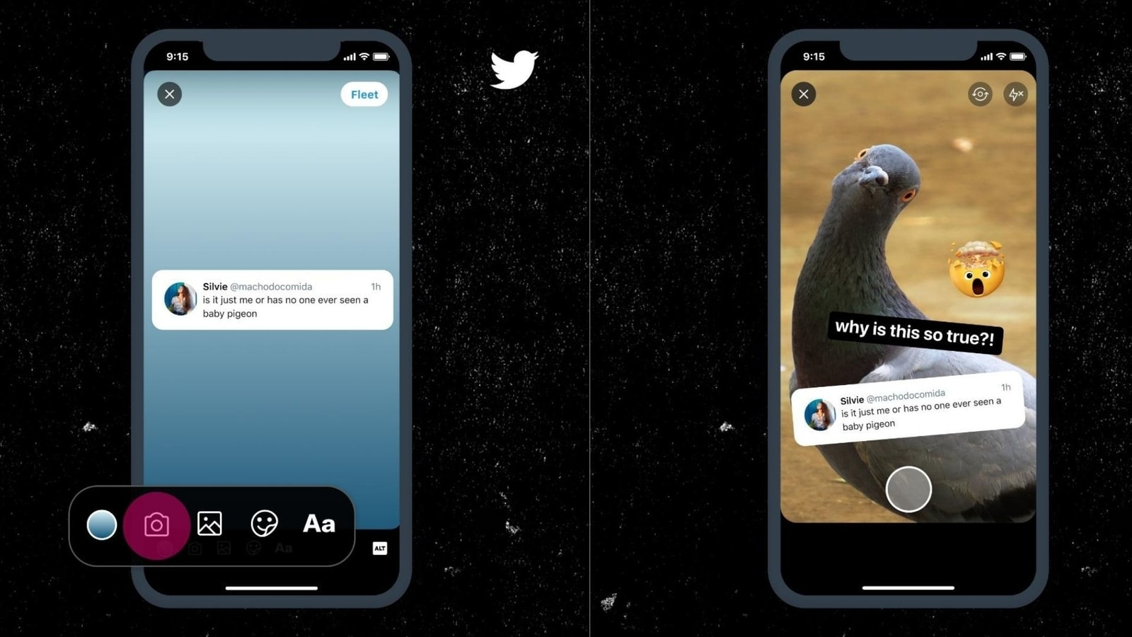 Twitter now lets you add background images, videos to Fleets