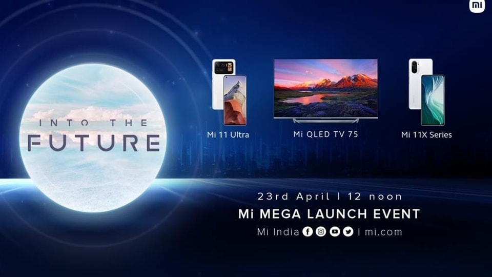 Xiaomi product launch event.