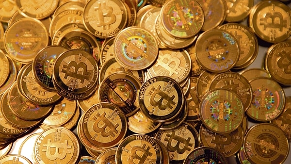 Cryptocurrencies have received growing interest from mainstream financial institutions, and bitcoin hit a record high of nearly $65,000 on April 14, up tenfold in the space of a year.