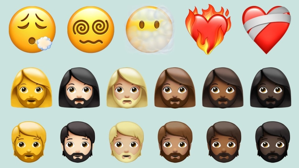 These are the major emoji changes and additions that made it onto Apple's latest iOS 14.5 update.