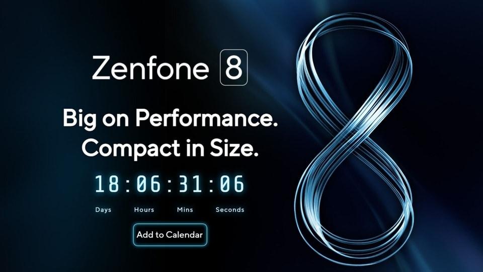 Asus Zenfone 8 launch